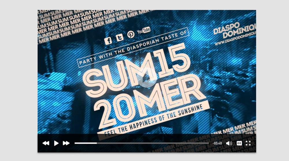 DiaspoDominique Summer Party Promo