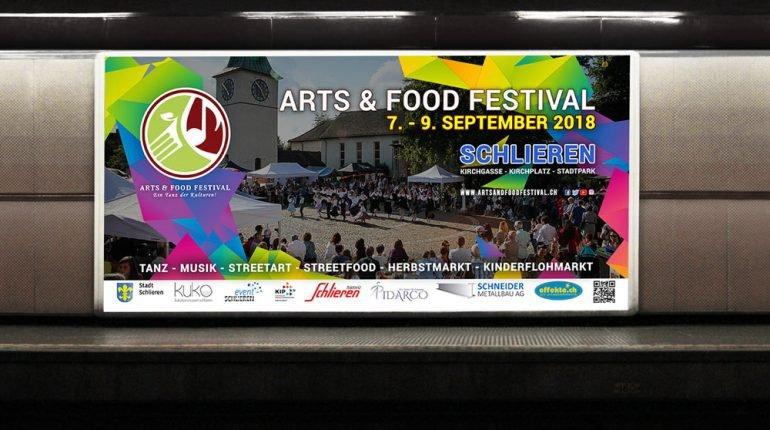 artsandfoodfestival schlieren avasta digital agency